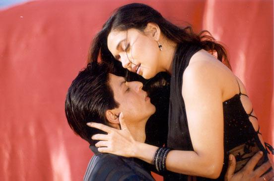 Shah Rukh Khan and Madhuri Dixit in Hum Tumhare Hai Sanam