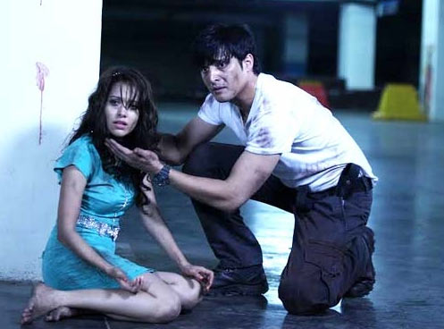 Jimmy Shergill and Nushrat Bharucha in Darr @The Mall