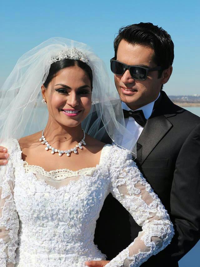 Veena Malik and Asad Khan Khattak