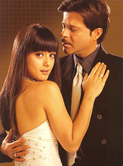 Preity Zinta and Anil Kapoor in Armaan
