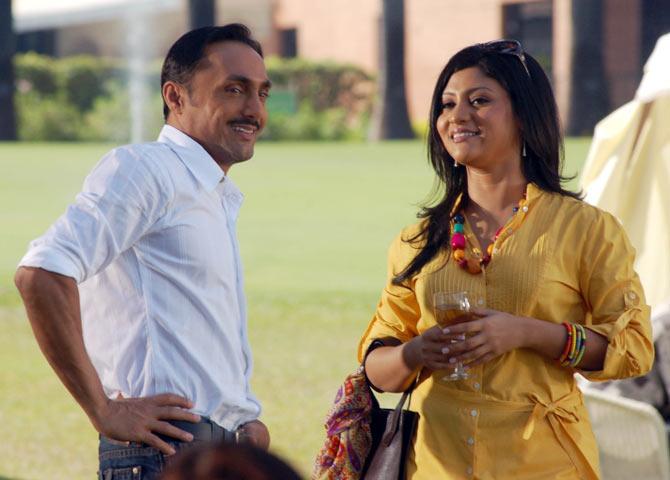 Rahul Bose and Konkona Sen Sharma in Dil Kabbadi