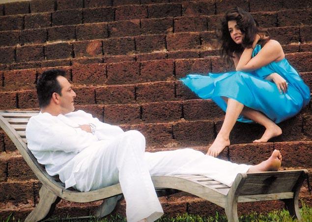 Sanjay Dutt and Aishwariya Rai Bachchan in Shabd