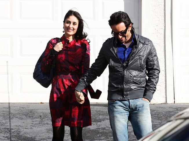 Kareena Kapoor and Saif Ali Khan in Kurbaan