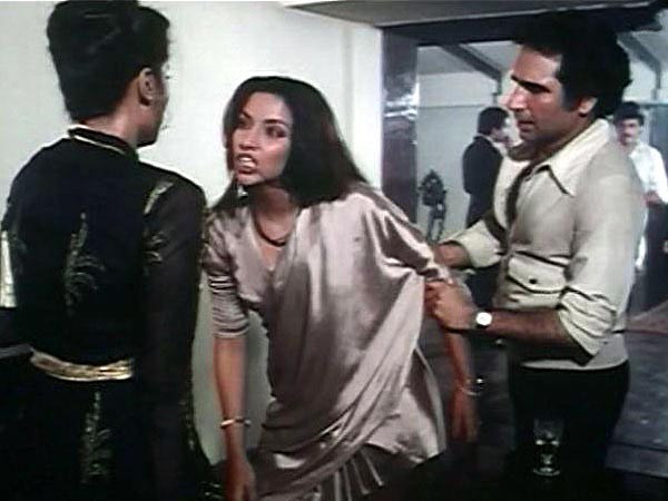 Kulbhushan Kharbanda and Shabana Azmi in Arth
