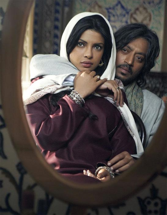 Irrfan Khan and Priyanka Chopra in Saat Khoon Maaf
