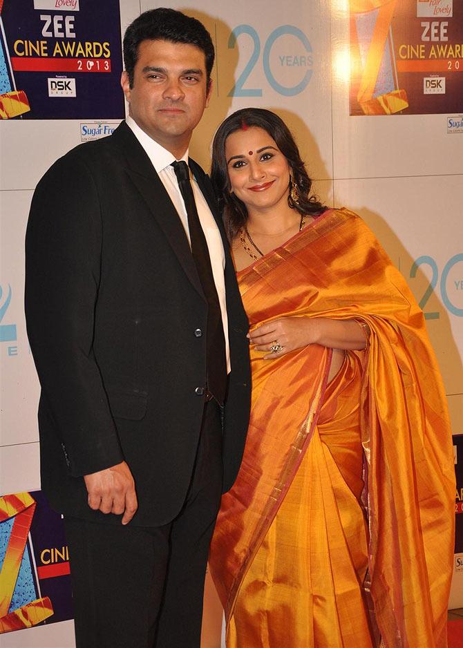 Vidya Balan and Siddharth Roy Kapur