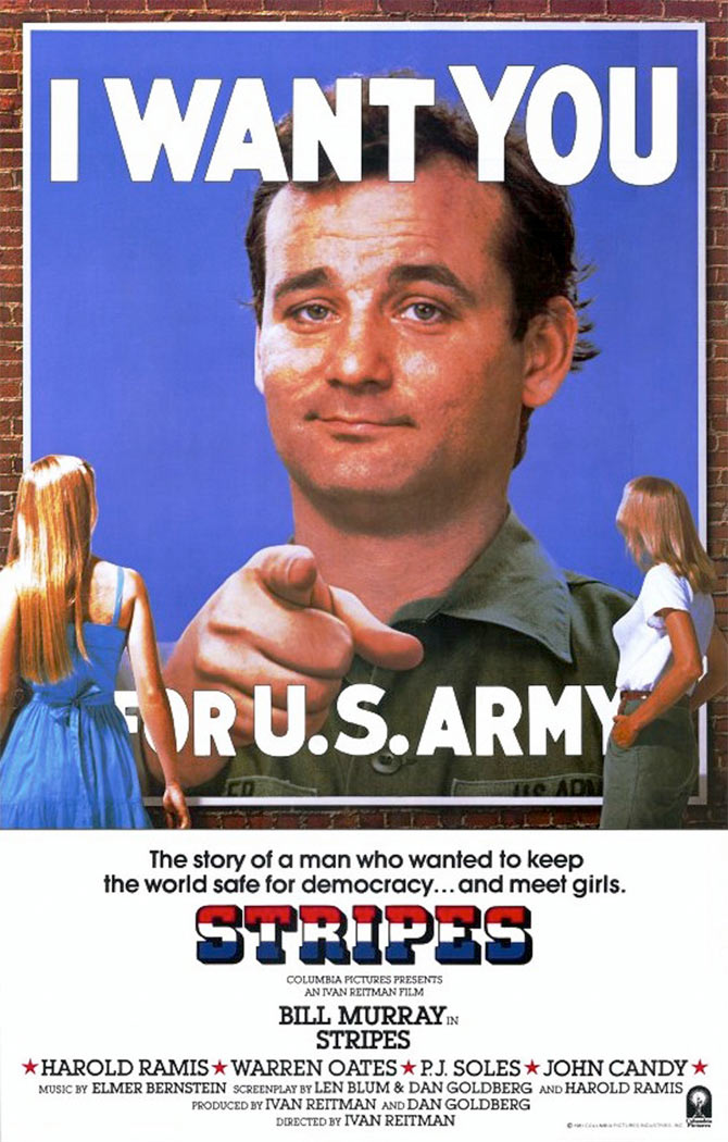 Movie poster of Stripes