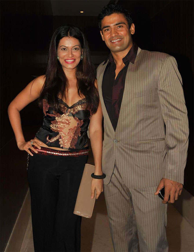 Payal Rohatgi and Sangram Singh
