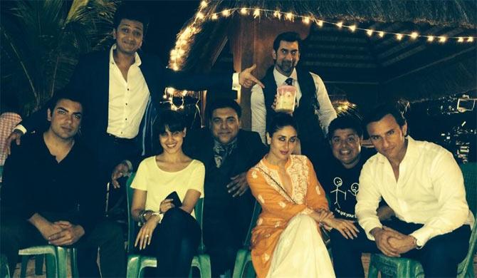 Kareena Kappo, Saif Ali Khan, Sajid Khan, Genelia D'Souza, Ram Kapoor and Ritiesh Deshmukh
