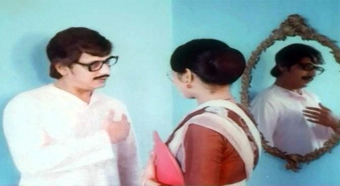 Amol Palekar and Ranjeeta Kaur in Meri Biwi Ki Shaadi
