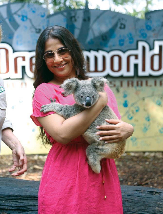 Vidya Balan in Australia