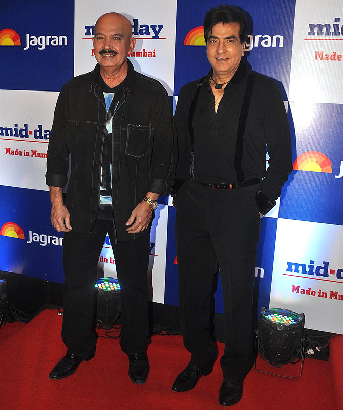 Rakesh Roshan and Jeetendra
