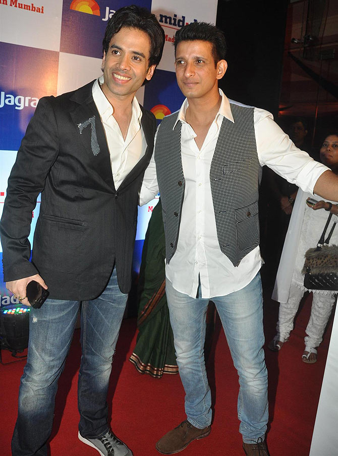 Tusshar Kapoor and Sharman Joshi