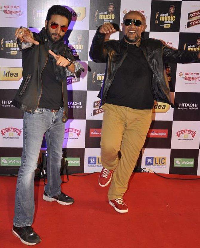 Shekhar Ravjiani and Vishal Dadlani