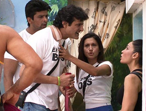 Armaan and Sofia argue in Bigg Boss 7