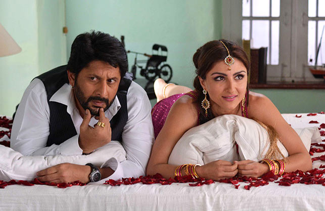Arshad Warsi and Soha Ali Khan in Joe B Carvahlo