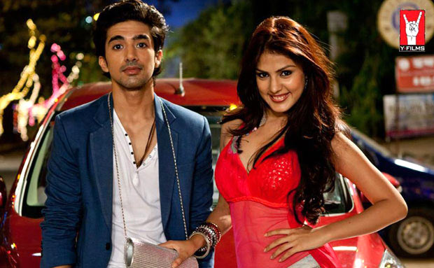 Saqib Saleem and Rhea Chakraborty in Mere Dad Ki Maruti