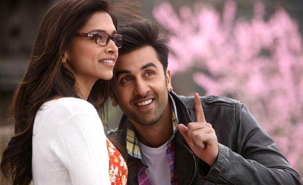 Deepika Padukone and Ranbir Kapoor in Yeh Jawaani Hai Deewani