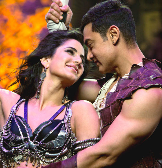 Aamir Khan and Katrina Kaif in Dhoom 3