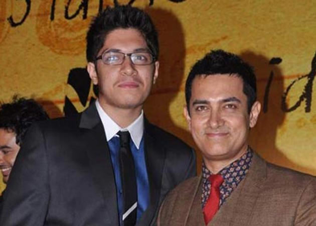 Aamir with Junaid Khan