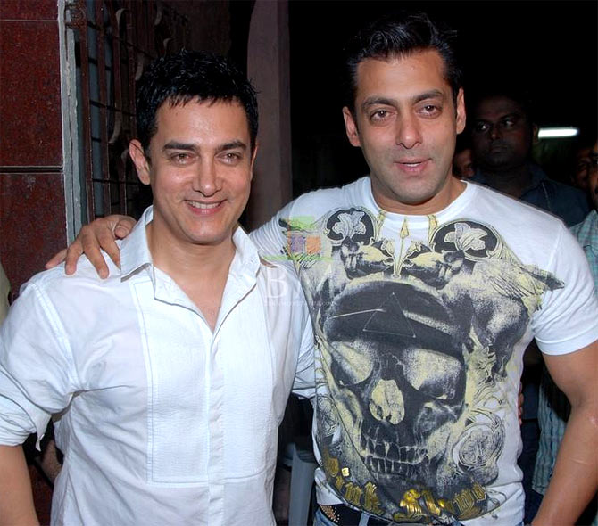 Aamir and Salman Khan