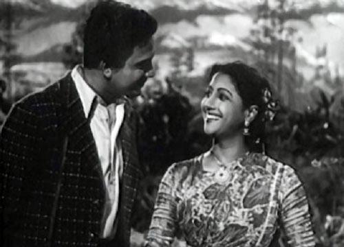 Uttam Kumar and Suchitra Sen in Agnipariksha
