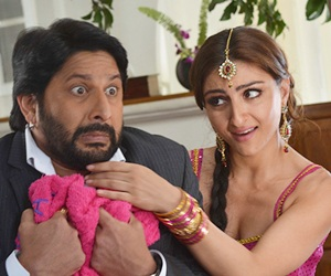 Arshad Warsi and Soha Ali Khan in Mr Joe B Carvahlo