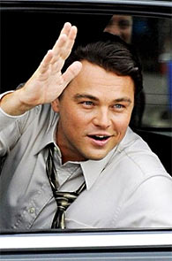 Leonardo DiCaprio in The Wolf Of Wall Sreet