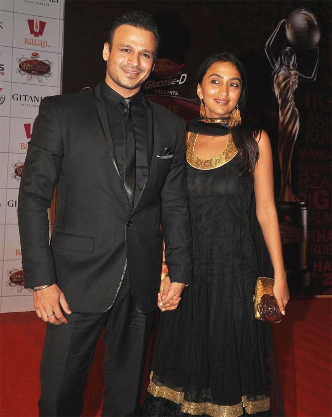 Vivek Oberoi and Priyanka Alva.