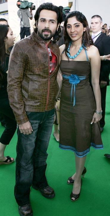Emraan Hashmi and Parveen Shahani.