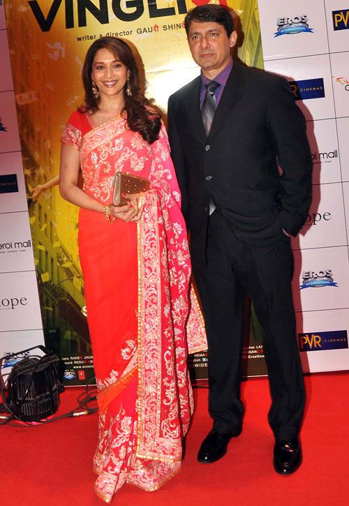 Madhuri Dixit and Dr Sriram Nene.