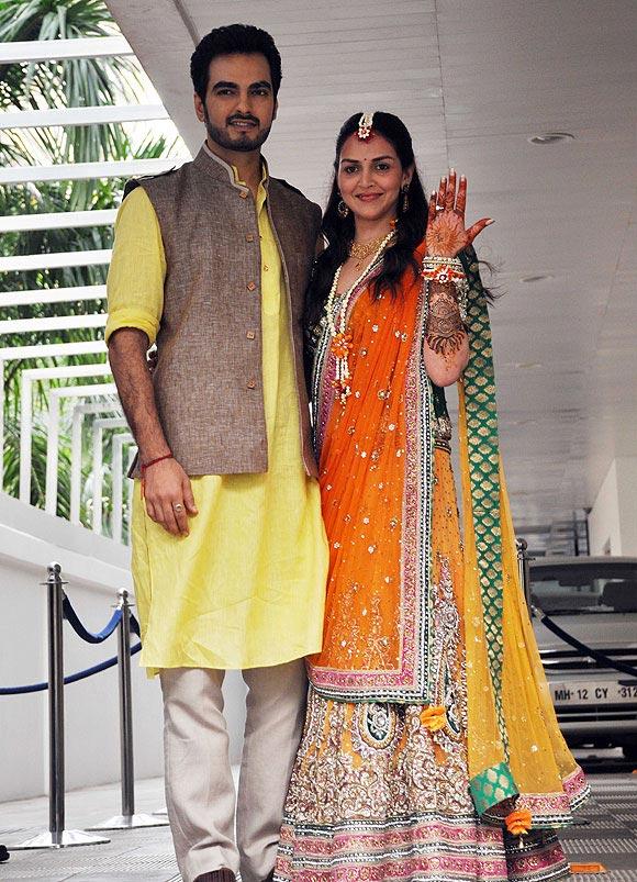 Bharat Takhtani and Esha Deol.
