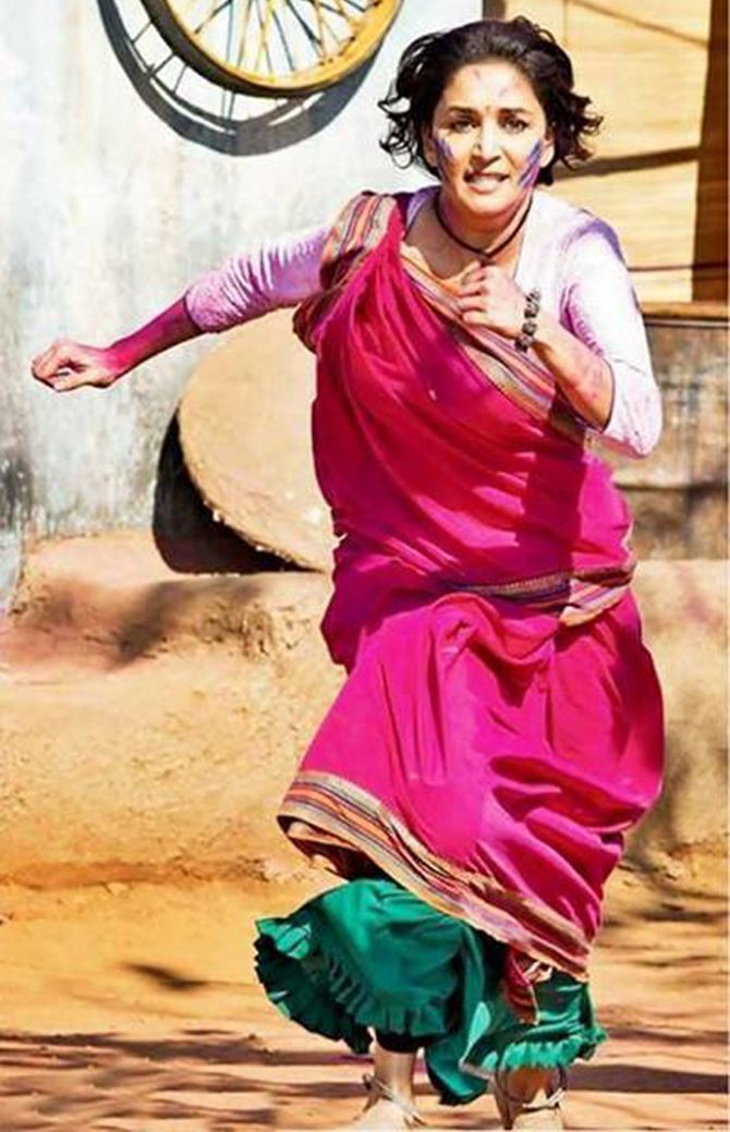 Madhuri Dixit in Gulab Gang