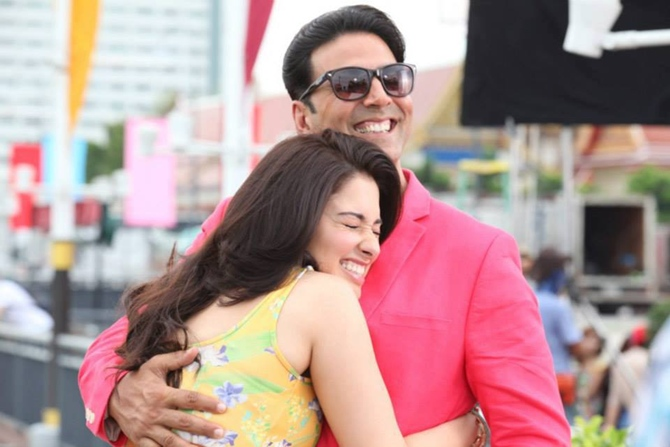Tamannaah Bhatia and Akshay Kumar in Its Entertainment