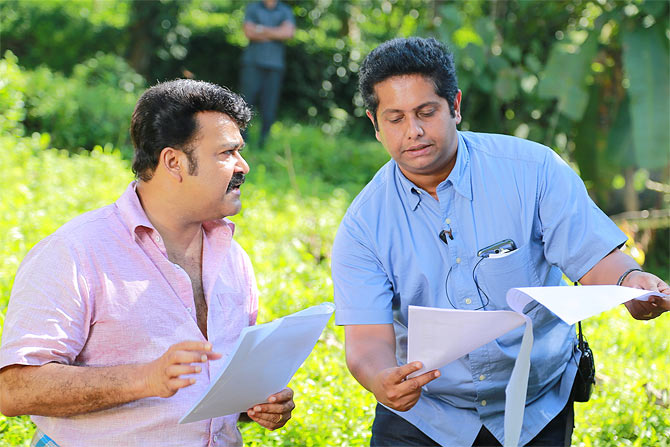 Mohanlal and Jeethu Joseph