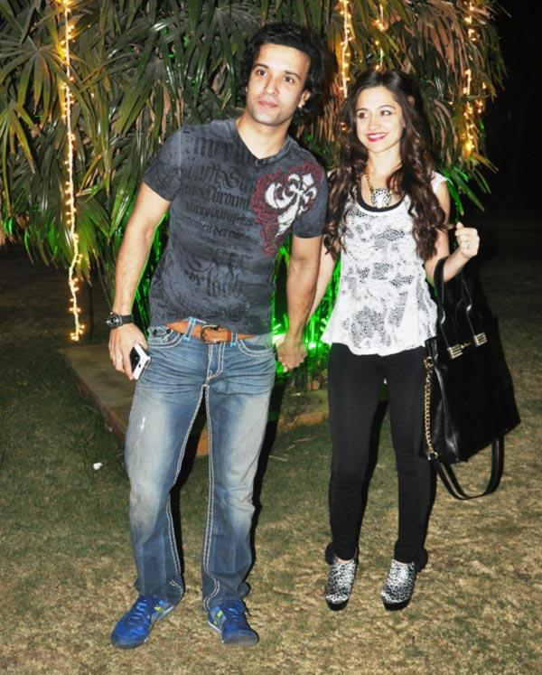 Aamir Ali and Sanjeeda