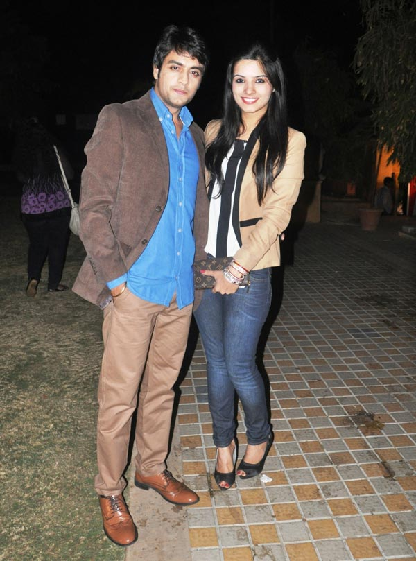 Gaurav Bajaj and Sakshi Shhorwani