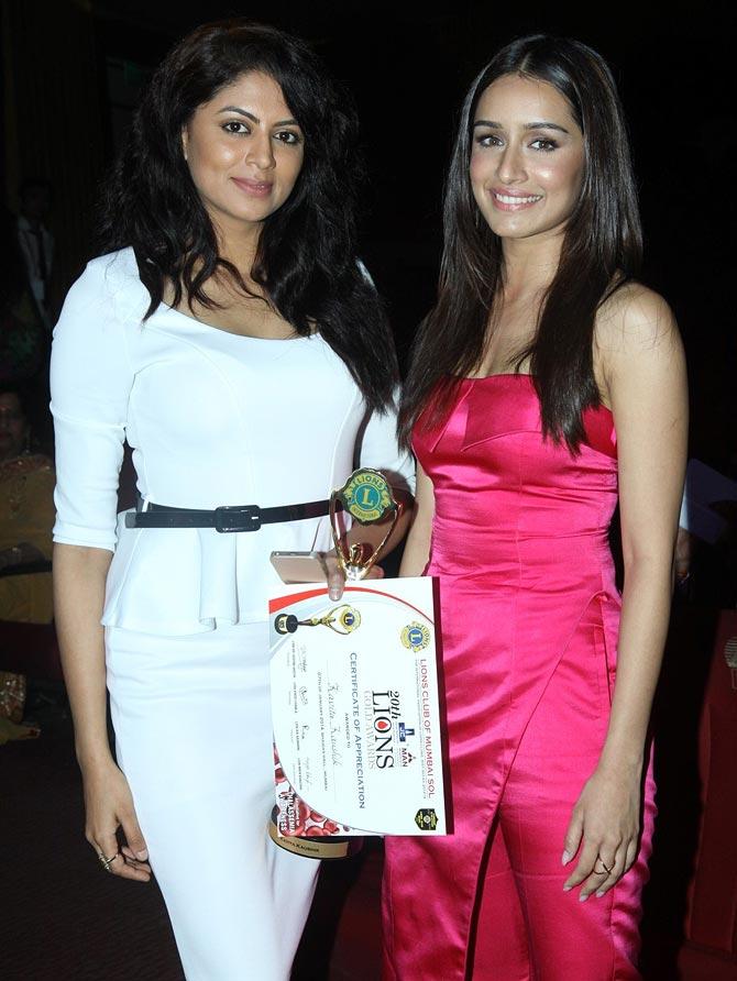 Kavita Kaushik and Shraddha Kapoor