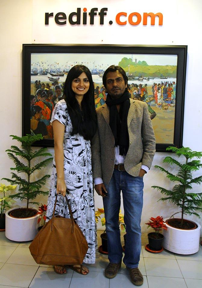 Niharika Singh and Naazuddin Siddiqui