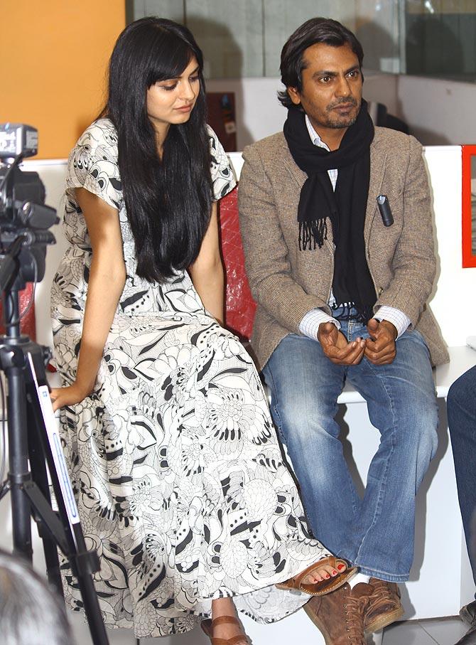 Niharika Singh and Nawazuddin Siddiqui