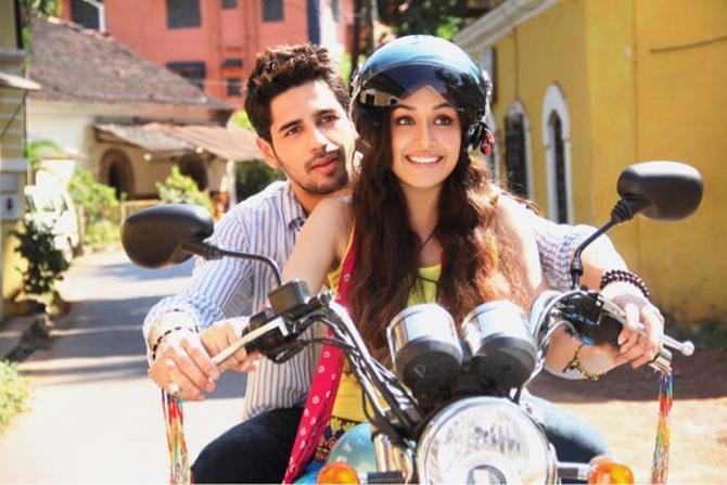 Siddharth Malhotra and Shraddha Kapoor in Villain