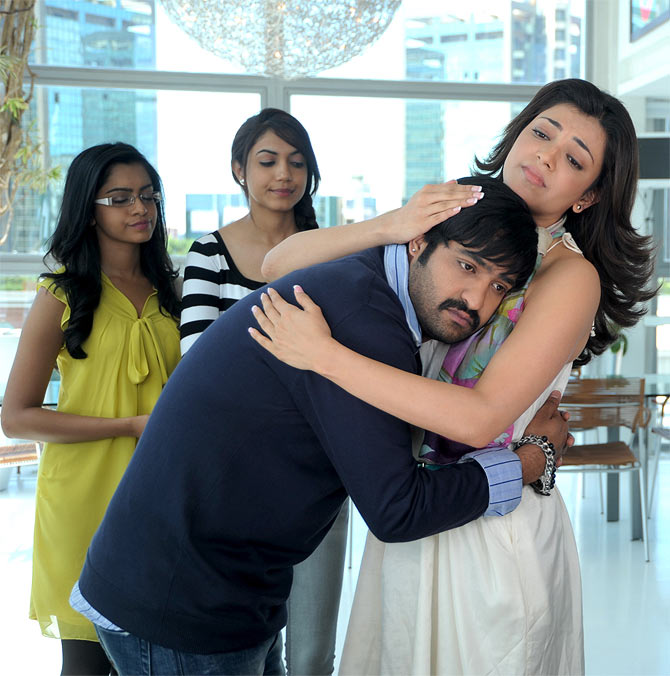NTR Jr and Kajal Aggarwal in Baadshah