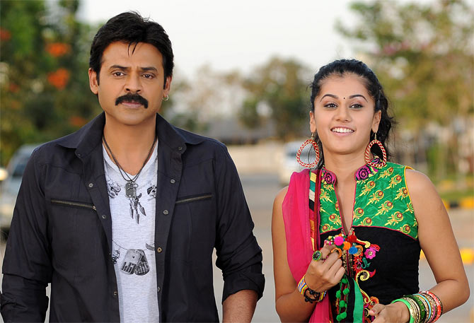 Venkatesh and Taapsee in Shadow