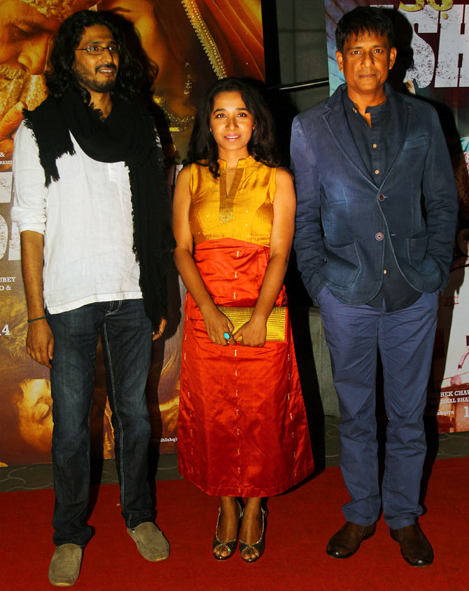 Abhishek Chaubey, Tannishtha chatterjee, Adil Hussain