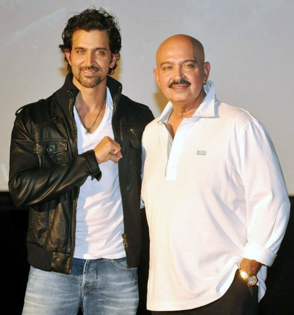 Hrithik and Rakesh Roshan