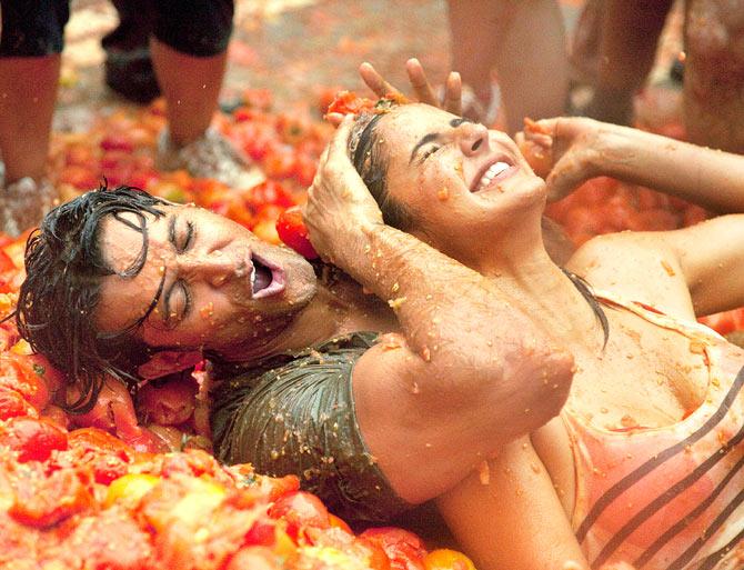 Hrithik Roshan with Katrina Kaif in Zindagi Na Milegi Dobara