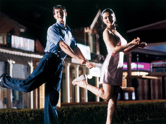 Hrithik Roshan and Preity Zinta in Koi Mil Gaya