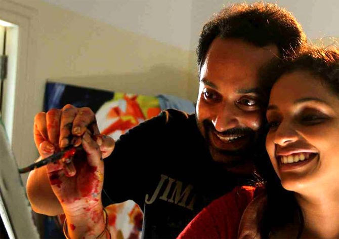 Fahaad Fasil and Ann Augustine in Artist