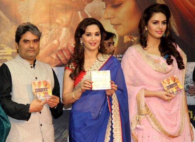 Vishal Bhardwaj, Madhuri Dixit and Huma Qureshi