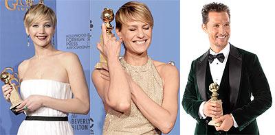Jennifer Lawrence, Robin Wright, Matthew McConnaughey